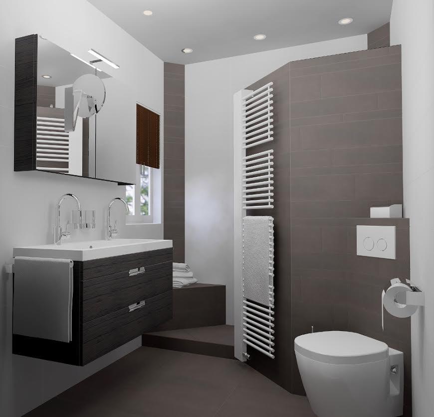 Een Kleine Badkamer Ontwerpen Woninginrichting